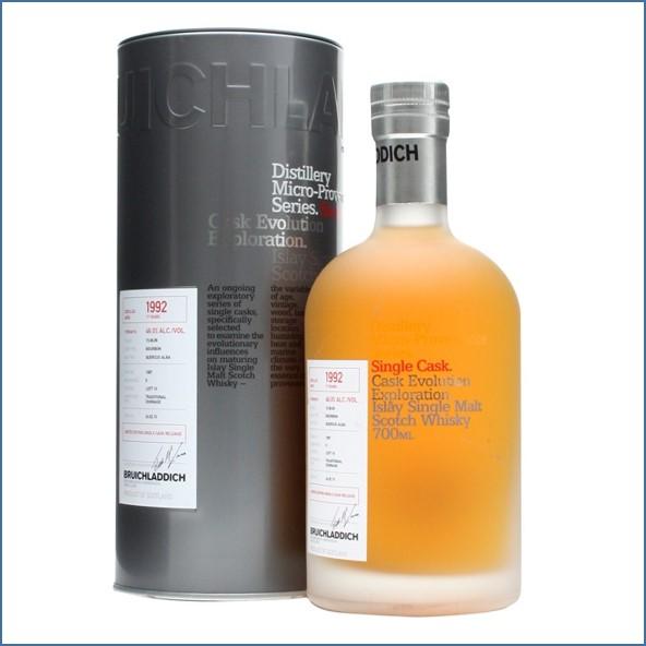 Bruichladdich 17 Year Old  Micro 1992  Provenance Ex-Bourbon 70cl 46%