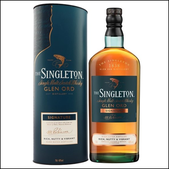 The Singleton of Glen Ord Signature 70cl 40% 大師精選 Signature收購