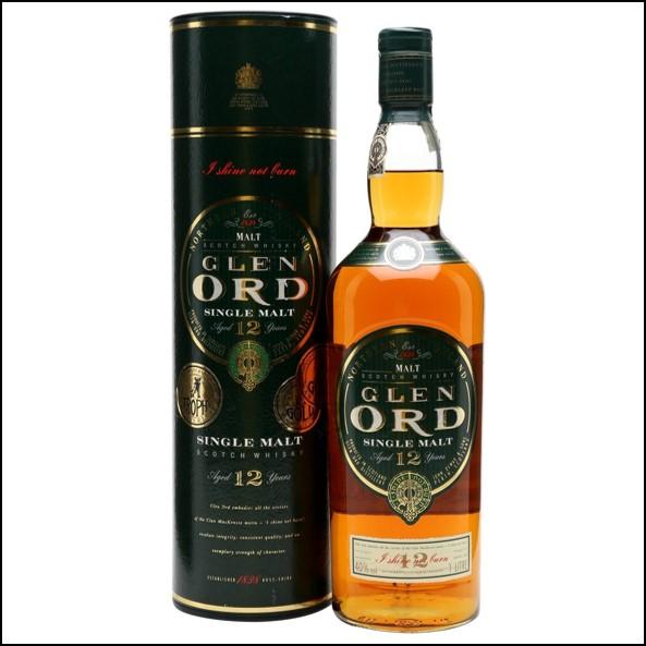 Glen Ord 12 Year Old 1990s Old Presentation Highland Single Malt Scotch Whisky 100cl 40%