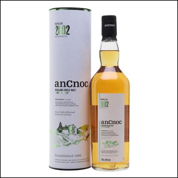 AnCnoc  2002 70cl 46%