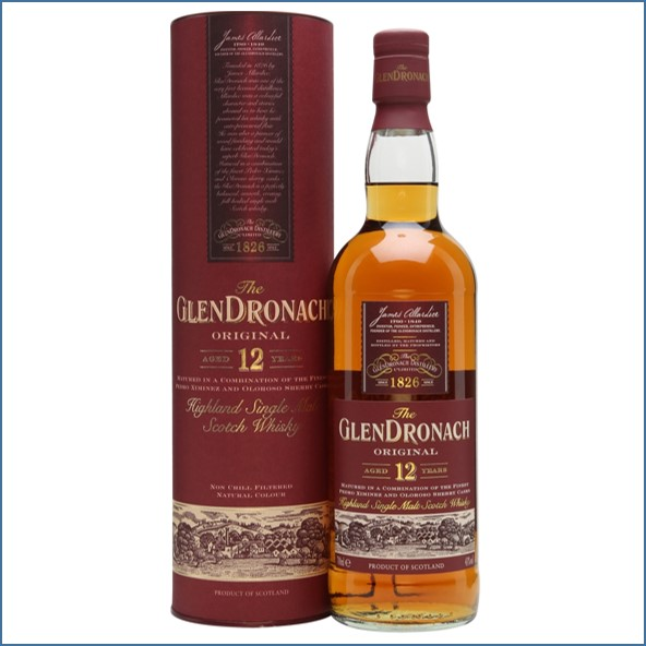 Glendronach 12 Year Old Original  70cl 43%