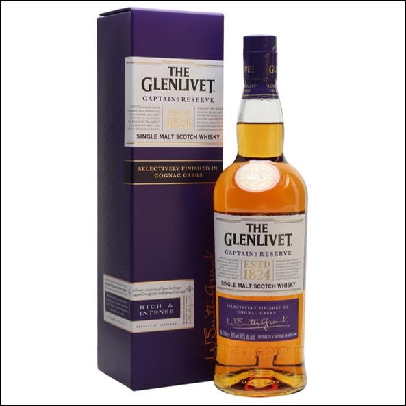 GLENLIVET CAPTAIN'S RESERVE 70cl 40%