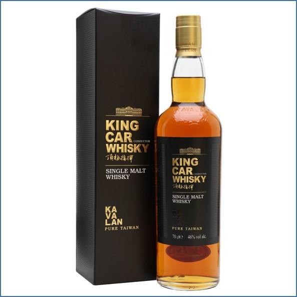 Kavalan King Car Conductor Taiwanese Single Malt Whisky 70cl 46%