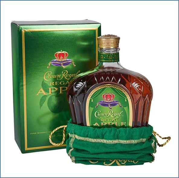 Crown Royal Apple 75cl 35%