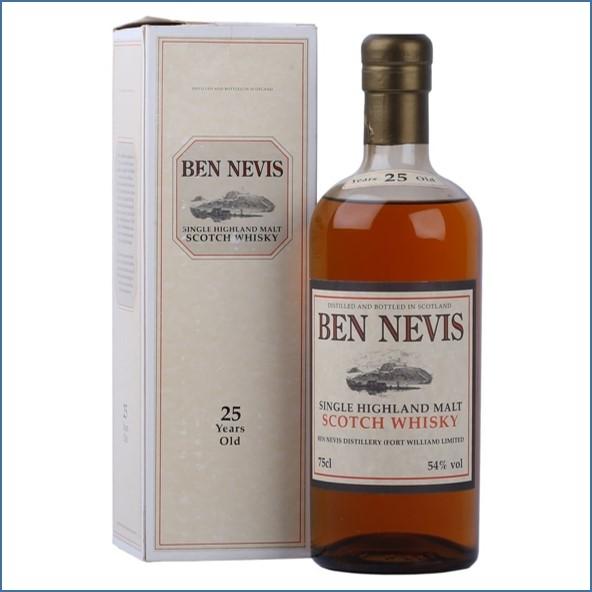 Ben Nevis 25 Year Old 75cl 54%