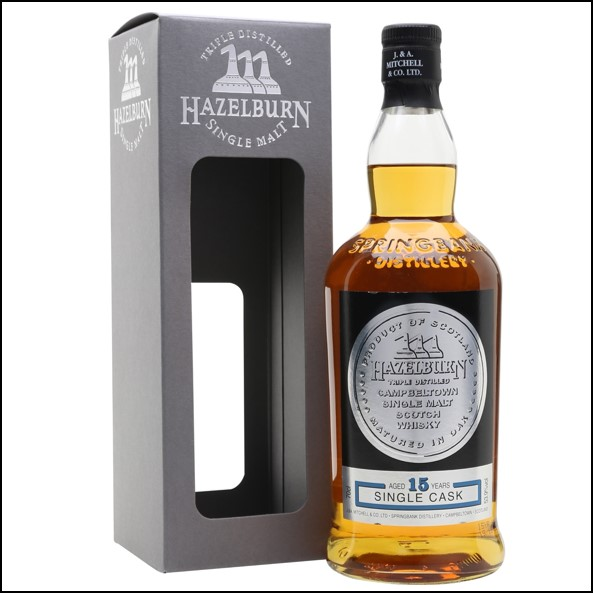 Hazelburn 15 Year Old Cognac Cask 2002-2018 Campbeltown Single Malt Scotch Whisky 70cl 53.9%