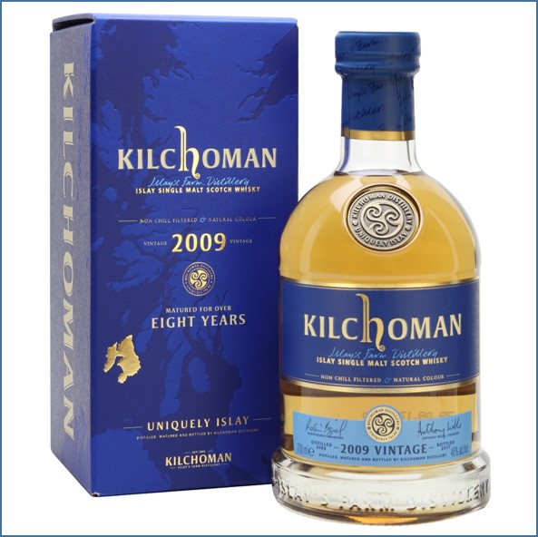 Kilchoman 2009 Vintage 8 Year Old 70cl 46%